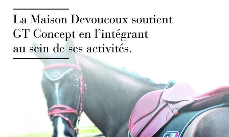 La Maison Devoucoux soutient GT Concept en l'intégrant au sein de ses activités.